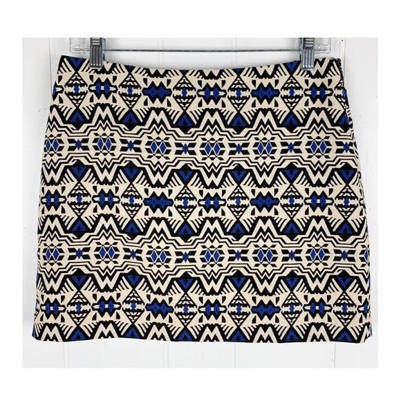 H&M Dresses & Skirts - H&M tribal print skirt